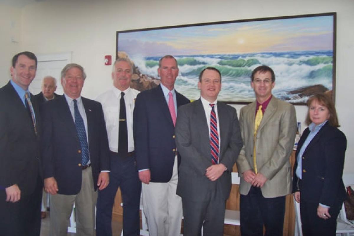 April 5, 2012 Representative Jim Cantwell, Howie Kreuztberg (former Waterways Co