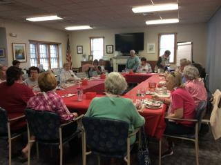 Knitters Lobster Lunch