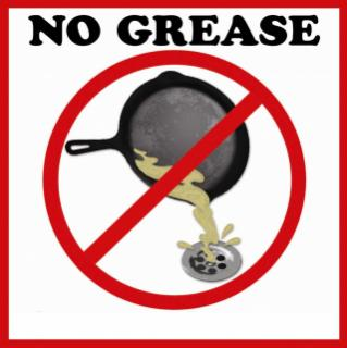 No Grease