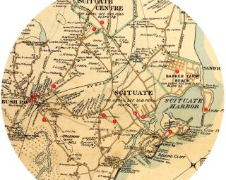 Scituate Historic Map