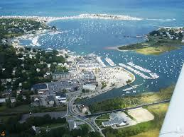 Aerial View of Scituate Harbor